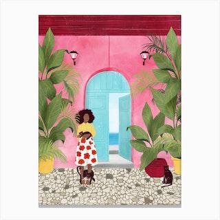 Cartagena Life Canvas Print