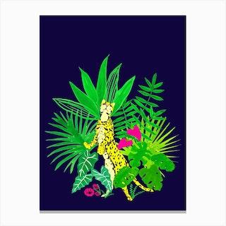 Jungle Cheetah Canvas Print