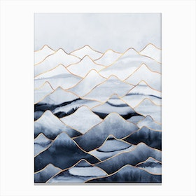 Mountains 1 Canvas Print