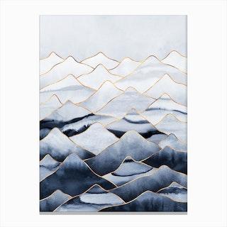 Mountains 1 Canvas Print