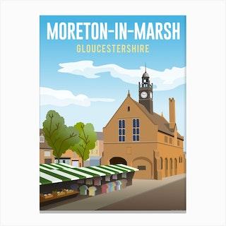 Moreton In Marsh Canvas Print
