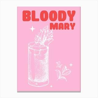 Bloodymary Canvas Print