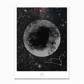 Leo Horoscope Canvas Print