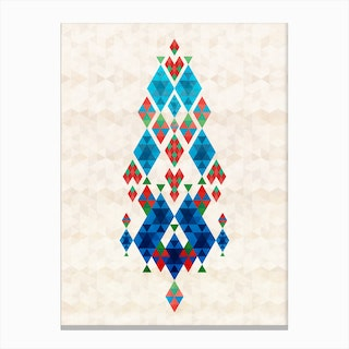 Bohemian Kilim Dreamcatcher Canvas Print