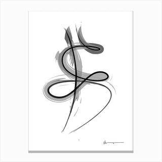 Spiral Strokes 7 Canvas Print