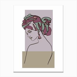 Nova Color Canvas Print