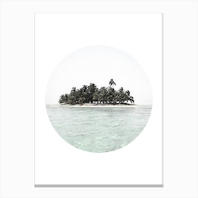 My Island Canvas Print