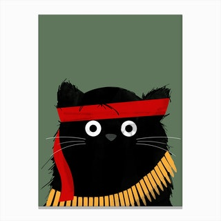 Cat Rambo Canvas Print