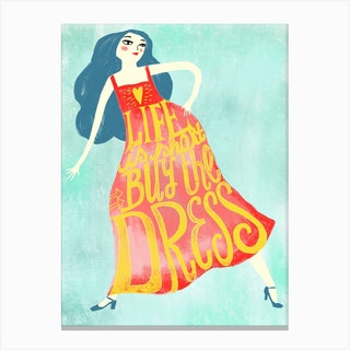 Buy The Dress Canvas Print