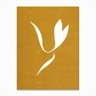 Matisse Linocut Yellow Canvas Print