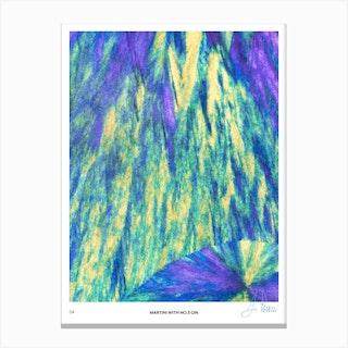 No 3 Perfection Prints Martini Canvas Print