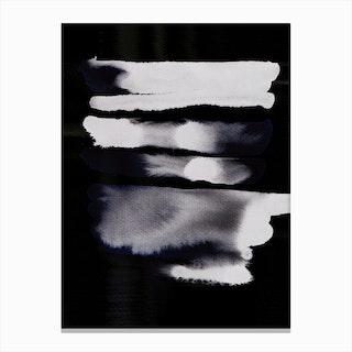 BlackBlue Canvas Print