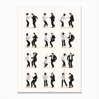 Pulp Fiction 2 Canvas Print