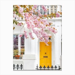 Mellow Yellow Bloom Canvas Print