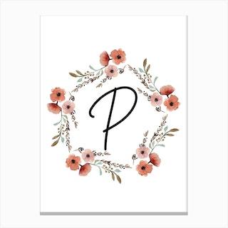 Wild Flower P Canvas Print