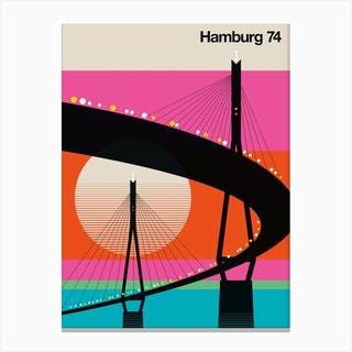 Hamburg 74 Canvas Print