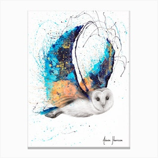 Majestic Moonlight Owl Canvas Print