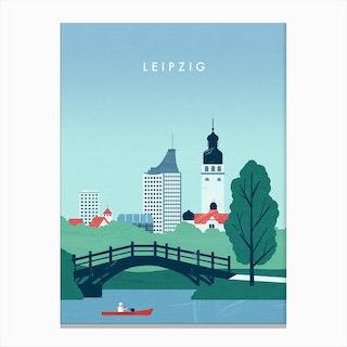 Leipzig Canvas Print