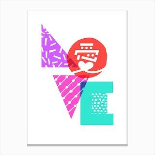 Japanese Love Canvas Print