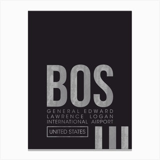 Bos Code Canvas Print