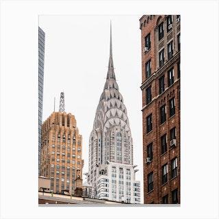 Chrysler Building Details Canvas Print