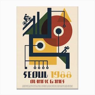 1988 Olympics Seoul Canvas Print