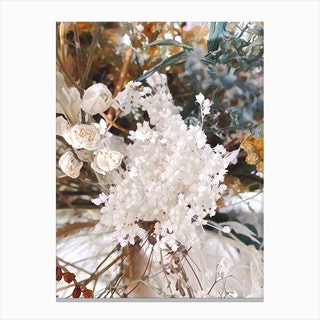 Floral Cluster Canvas Print