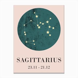 Sagittarius  I Canvas Print