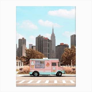 New York Ice Cream Canvas Print