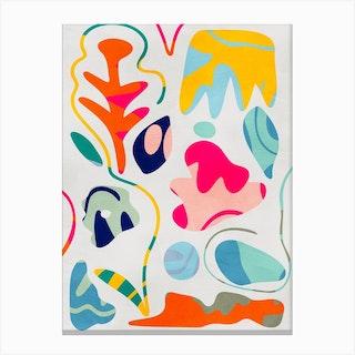 Minimal Matisse 5 Canvas Print