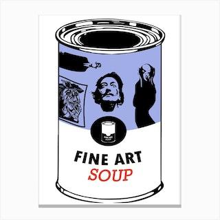 Fine Art Soup Canvas Print