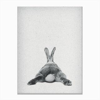 Frolein Rabbit III Canvas Print