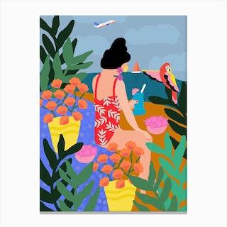 I Miss The Beach Canvas Print