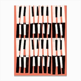 Piano Sounds Canvas Print