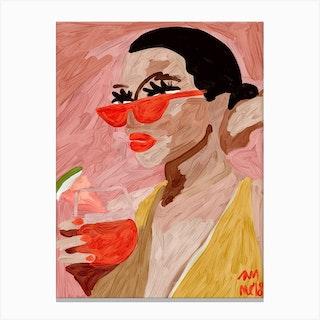 Mirtha Canvas Print