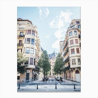 Summer In Spain Canvas Print