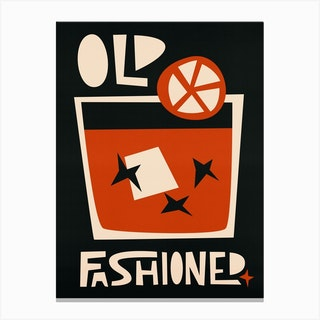 Old Fashioned Canvas Print