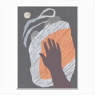 Hand To Eye Canvas Print