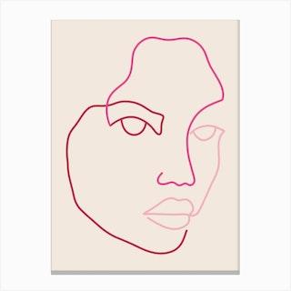 Althea Canvas Print