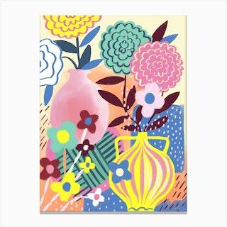 Still Life Vases Canvas Print
