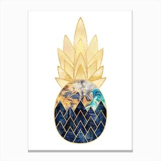 Precious Pineapple Canvas Print