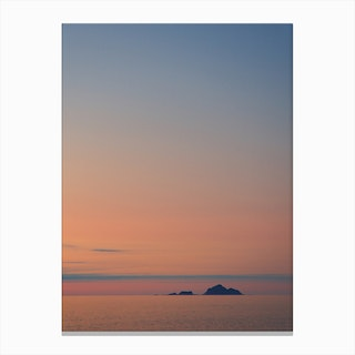 Evening in the North Canvas Print