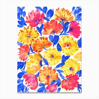 All In Bloom Canvas Print