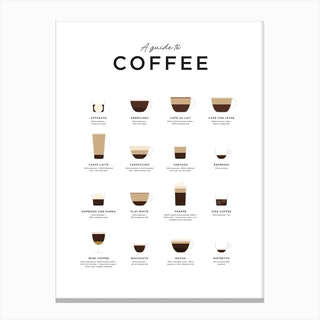 Coffee X Canvas Print