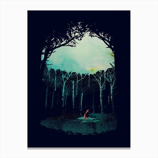 Deepin The Forest Canvas Print