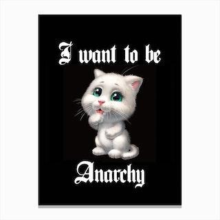 Anarchy Canvas Print