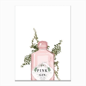 Pink Gin Canvas Print