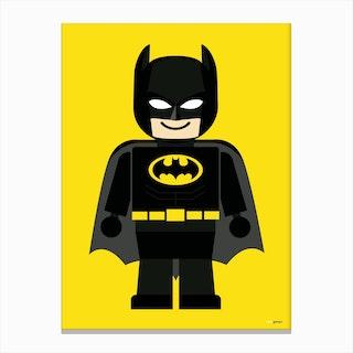 Toy Batman Canvas Print