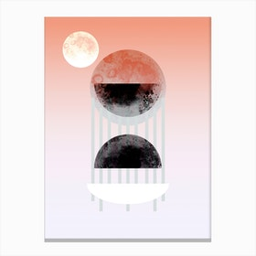 Nix Geometric Canvas Print