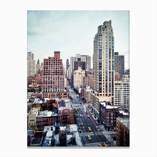 1st & 49th Canvas Print